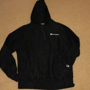 Champion | Black Heavy Weight Sweatshirt Black
